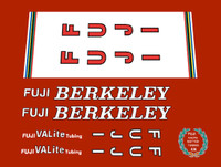 Fuji Berkeley Decal Set of 9  (sku 368)