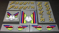 Faggin Decal Set of 10