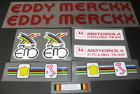 Eddy Merckx / Motorola Decal Set
