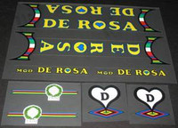 De Rosa Decal Set of 14 (sku 469)