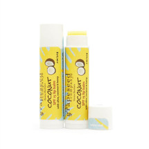 SPF 15 coconut lip balm
