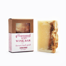 Harvest Crush Syrah Wine Bar Organic Soap