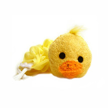 Yellow Ducky Stuffed Animal Sponge