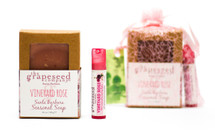 Vineyard Rose Seasonal Soap & Lip Balm Set