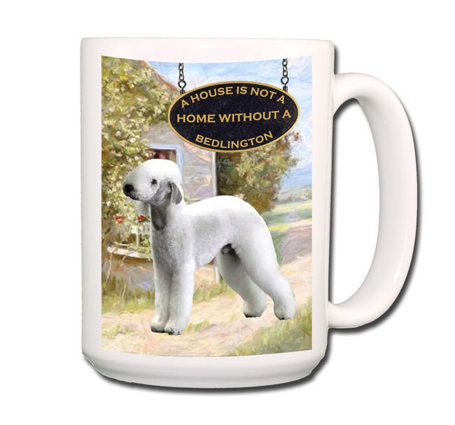 Bedlington a House is Not a Home Coffee Tea Mug 15oz
