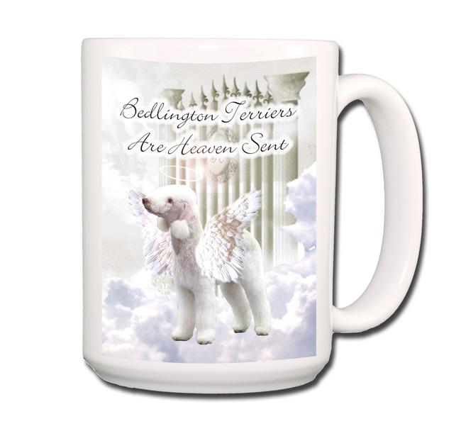 Bedlington Heaven Sent Coffee Tea Mug 15oz