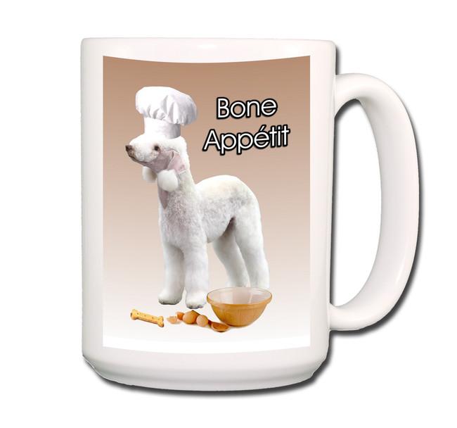 Bedlington Bone Appetit Chef Coffee Tea Mug 15oz