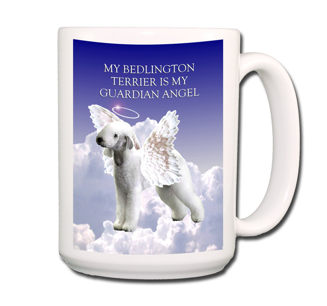 Bedlington Guardian Angel Coffee Tea Mug 15oz