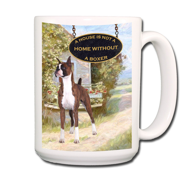 Boxer a House is Not a Home Coffee Tea Mug 15oz