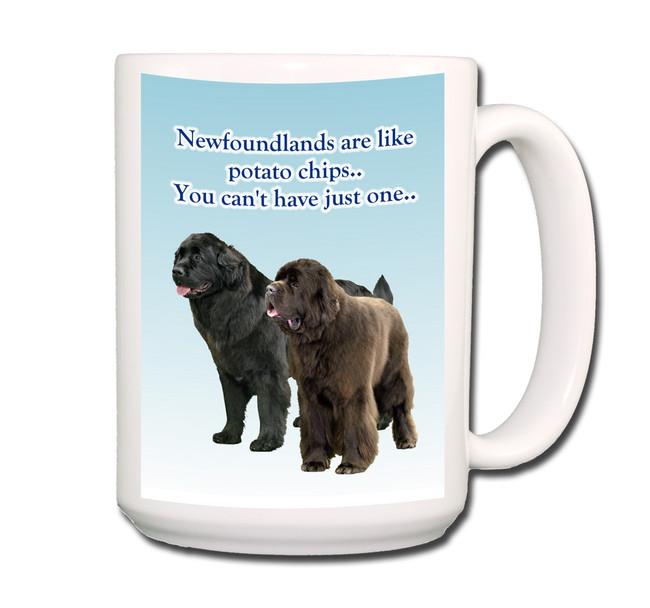 Newfoundland Can't Have Just One Coffee Tea Mug 15oz