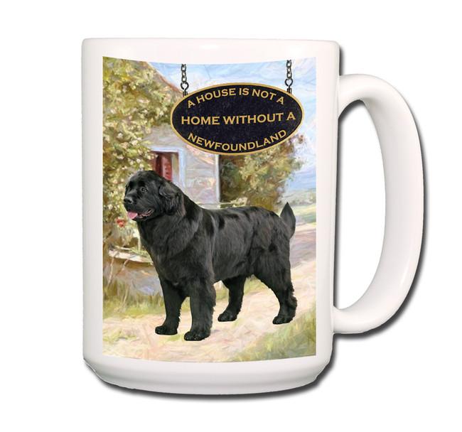 Newfoundland a House is Not a Home Coffee Tea Mug 15oz No 2