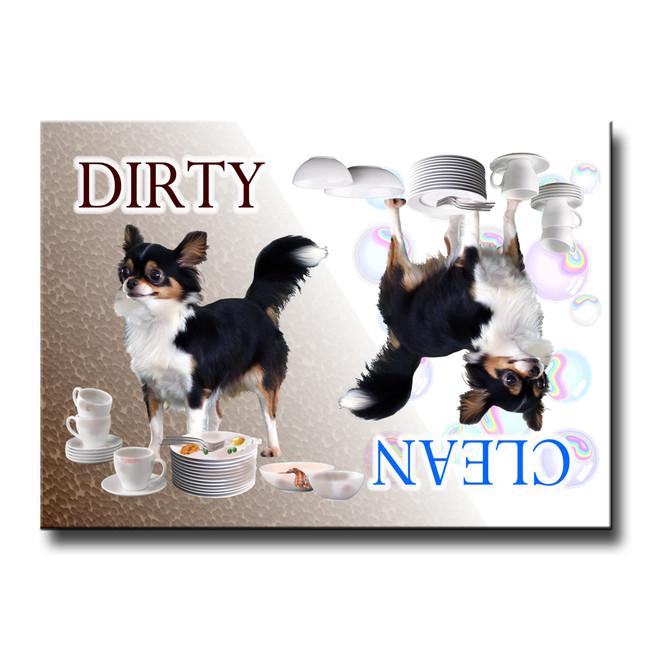 Chihuahua Clean Dirty Dishwasher Magnet No 2