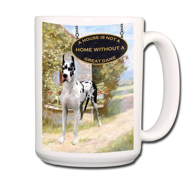 Great Dane a House is Not a Home Coffee Tea Mug 15oz No 2