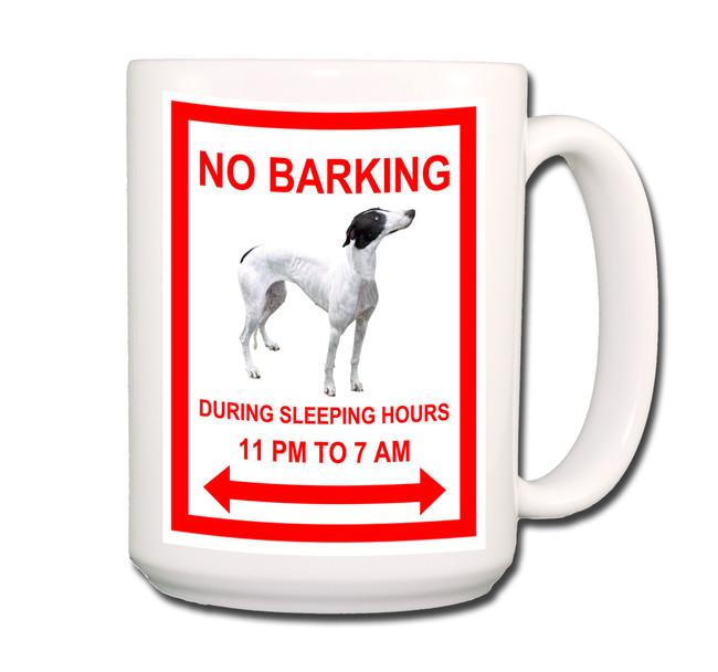 Greyhound No Barking Coffee Tea Mug 15oz No 1