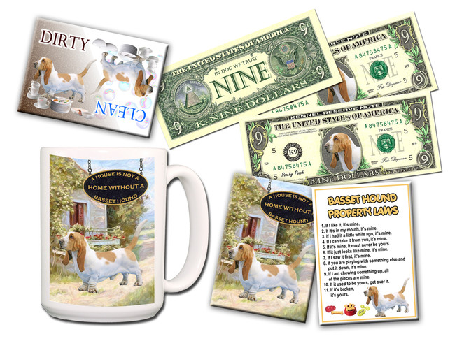Basset Hound Lovers Gift Pack No 1