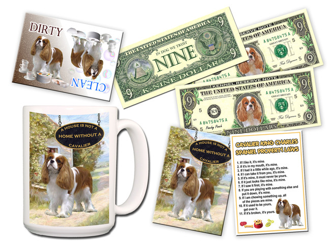Cavalier King Charles Spaniel Lovers Gift Pack No 2