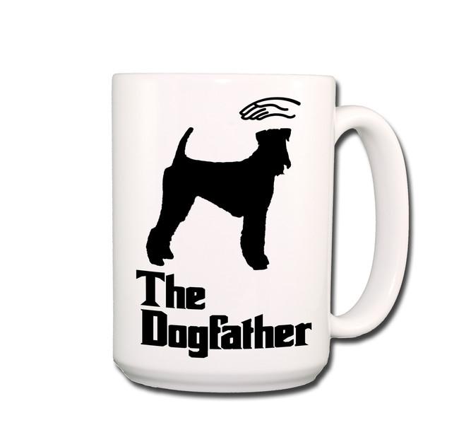 Airedale Terrier The Dogfather Coffee Tea Mug 15oz