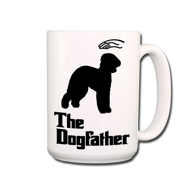 Bedlington Terrier The Dogfather Coffee Tea Mug 15oz
