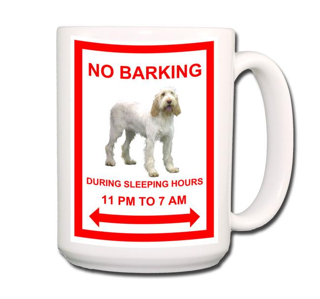 Italian Spinone No Barking Coffee Tea Mug 15 oz No 1