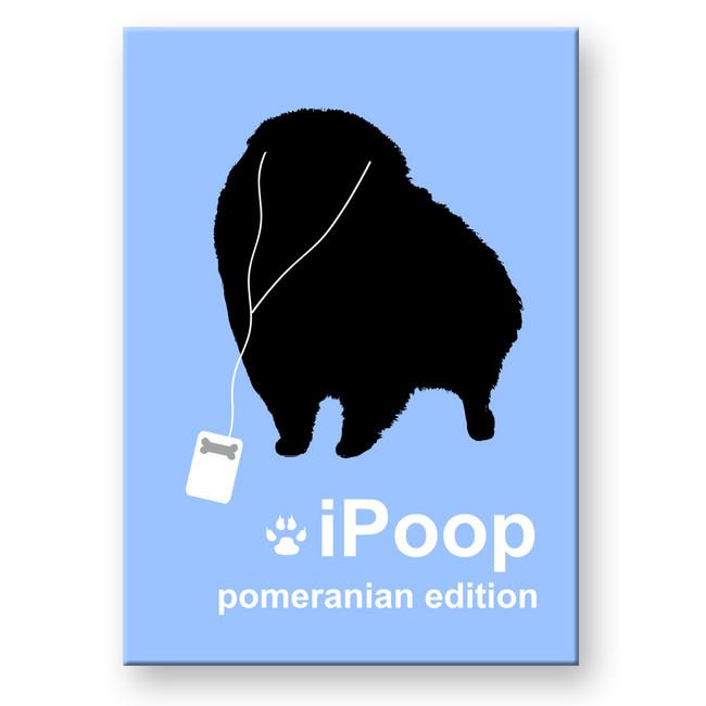 Pomeranian iPoop Fridge Magnet