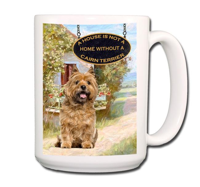 Cairn Terrier a House is Not a Home Coffee Tea Mug 15 oz No 2
