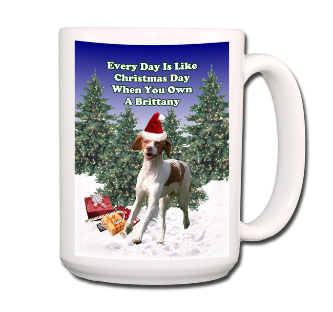 Brittany Christmas Holidays Coffee Tea Mug 15oz