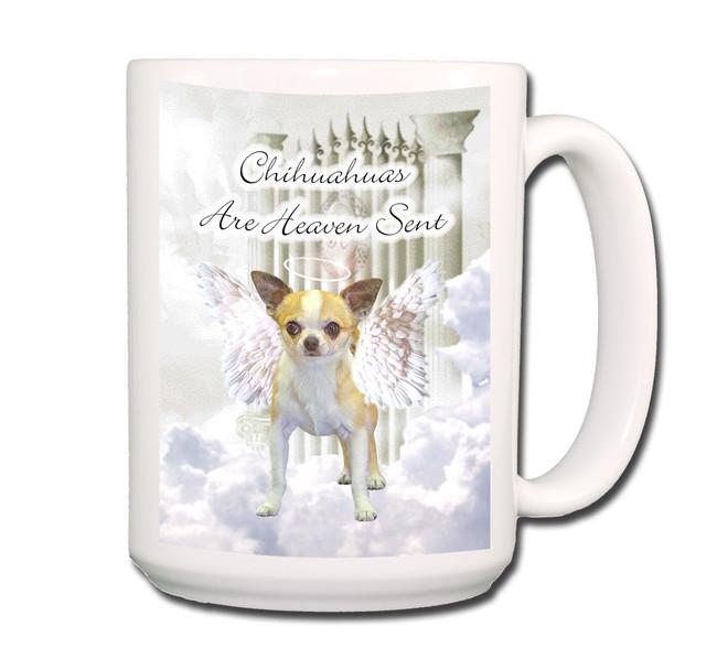 Chihuahua Heaven Sent Coffee Tea Mug 15oz No 1