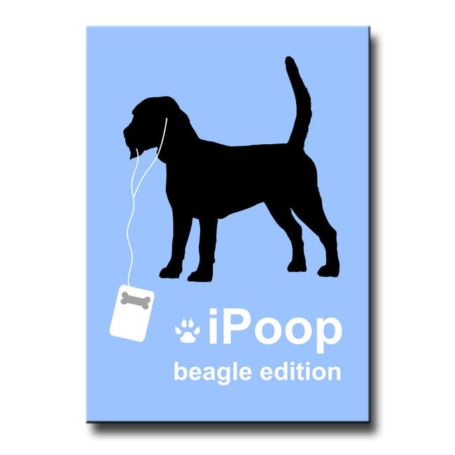 Beagle iPoop Fridge Magnet