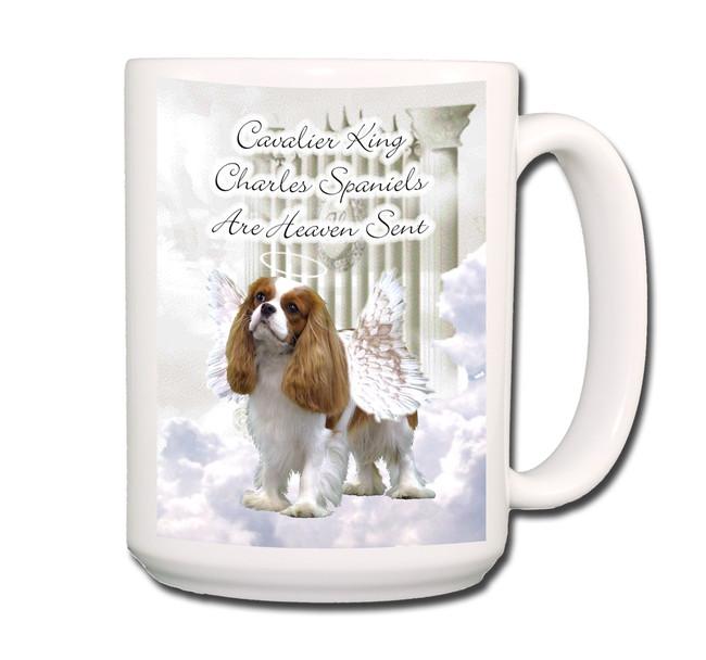 Cavalier King Charles Heaven Sent Coffee Tea Mug 15oz No 2
