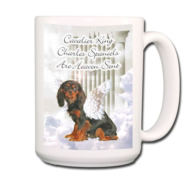 Cavalier King Charles Heaven Sent Coffee Tea Mug 15oz No 3
