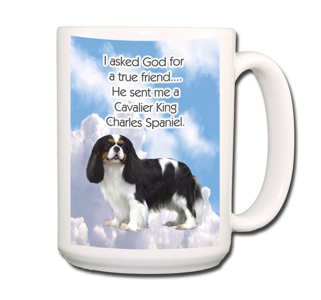 Cavalier King Charles True Friend Coffee Tea Mug 15oz No 1