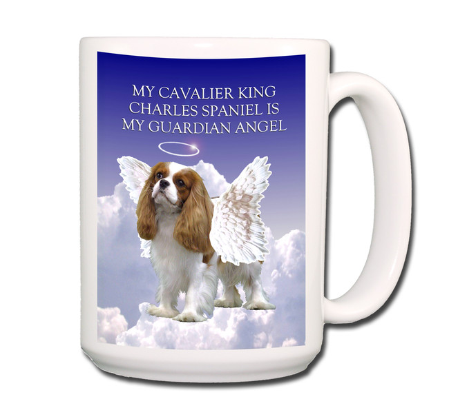 Cavalier King Charles Guardian Angel Coffee Tea Mug 15oz No 2
