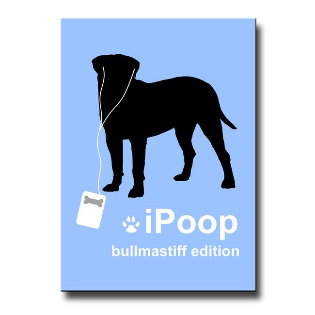 Bullmastiff iPoop Fridge Magnet