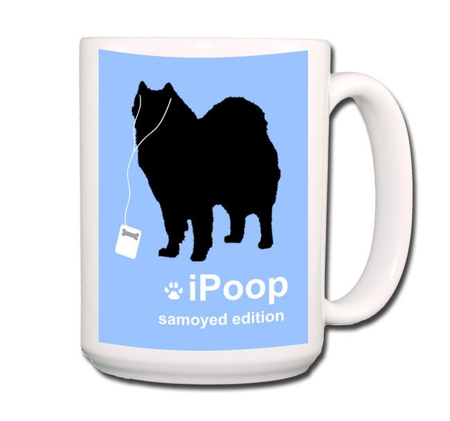 Samoyed iPoop Coffee Tea Mug 15oz