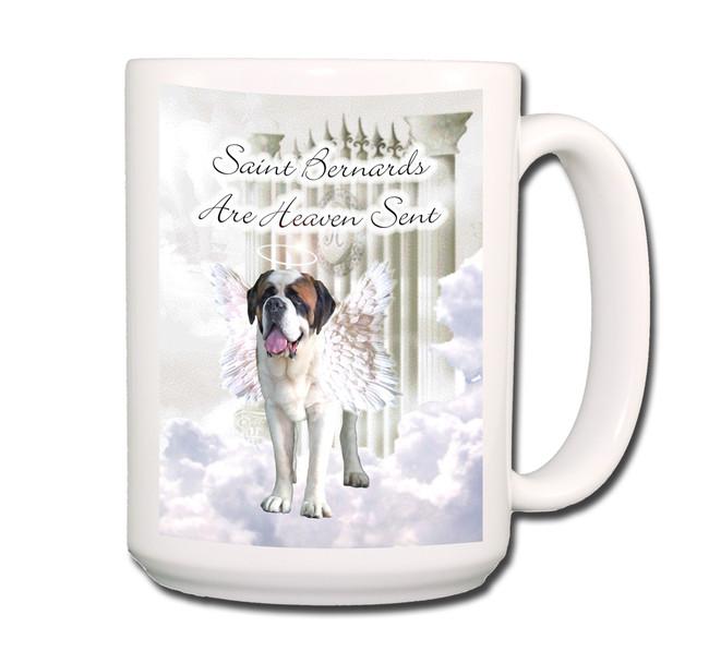 Saint Bernard Heaven Sent Coffee Tea Mug 15oz