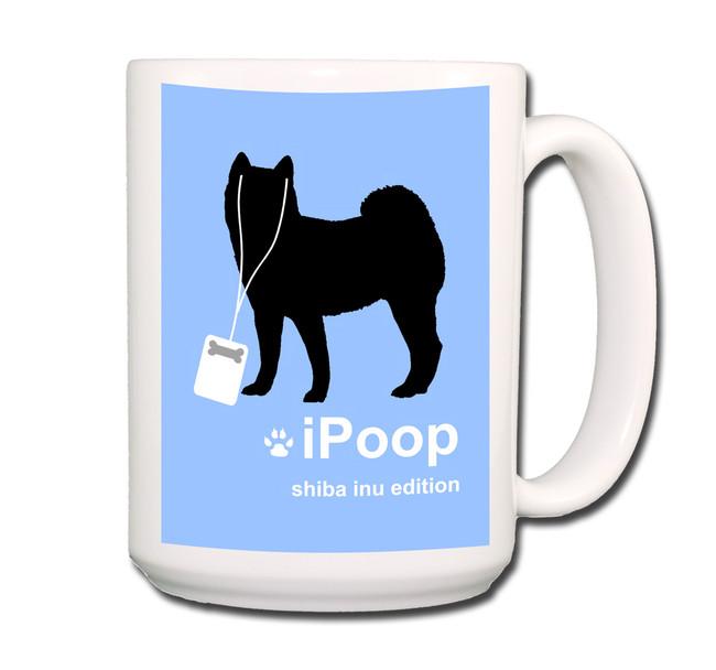 Shiba Inu iPoop Coffee Tea Mug 15oz