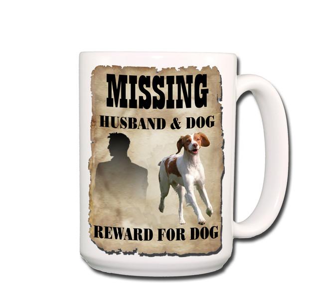 Brittany Husband Missing Reward Coffee Tea Mug 15oz