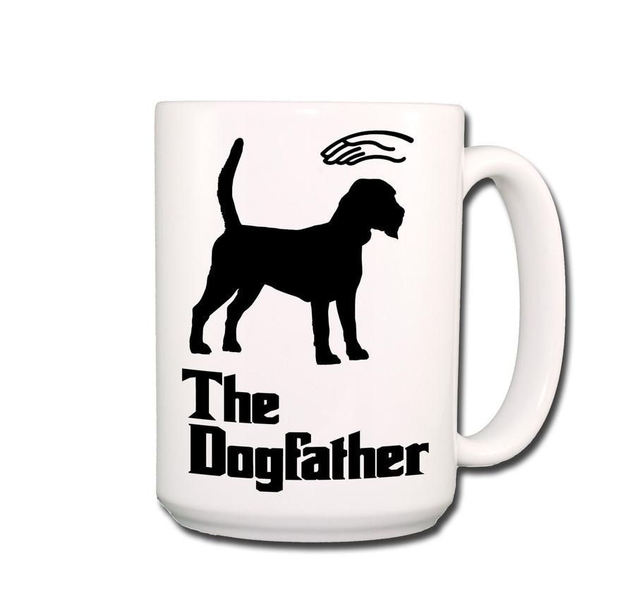Beagle The Dogfather Coffee Tea Mug 15oz