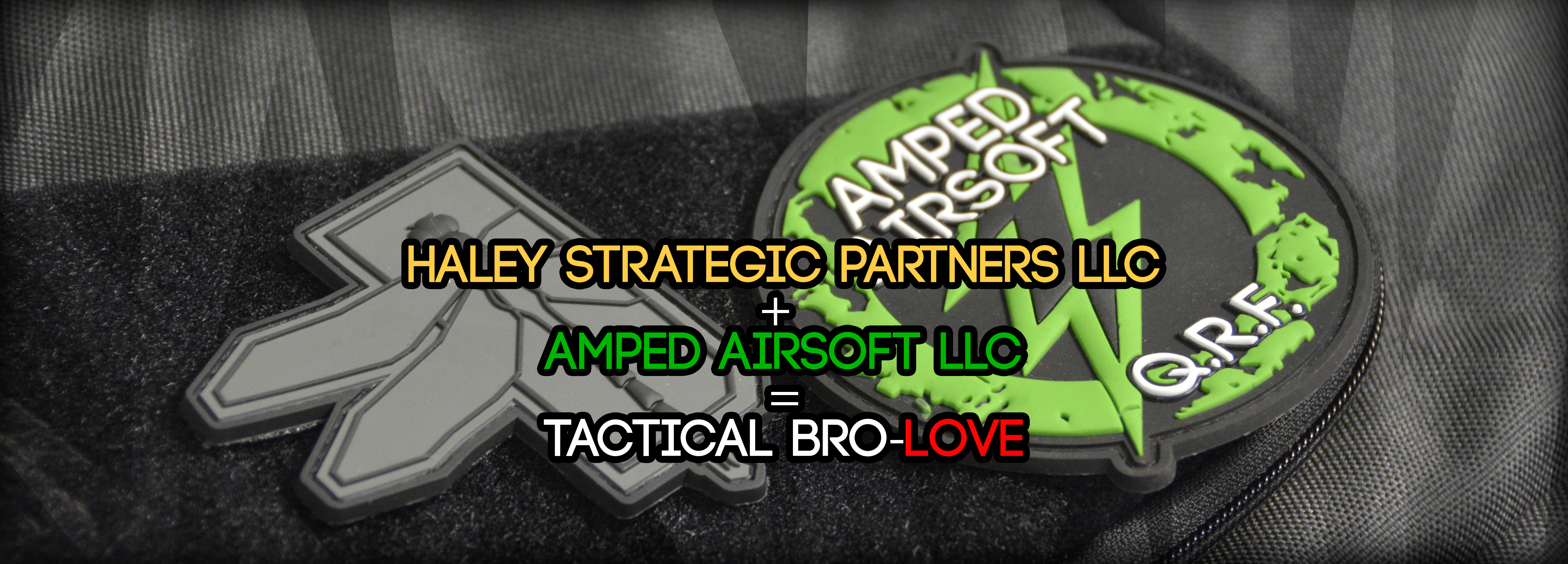 Haley Strategic and Amped Airsoft