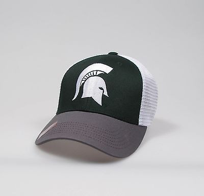 """Michigan State Spartans Adjustable """"One Size Fits Most"""" Hat - Mesh Back"""