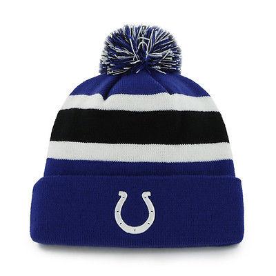 NFL '47 Brand Indianapolis Colts Breakaway Cuff Pom Pom Beanie