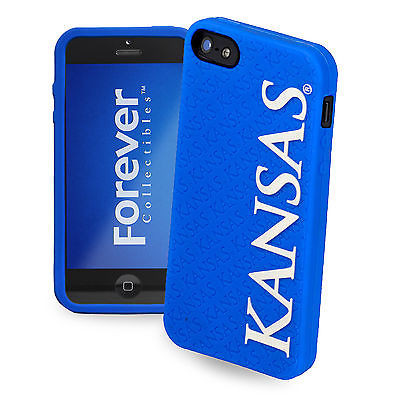 Kansas Jayhawks All Silicone IPHONE 5 soft cell phone cover/case