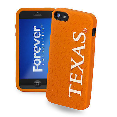 Texas Longhorns All Silicone IPHONE 5 soft cell phone cover/case