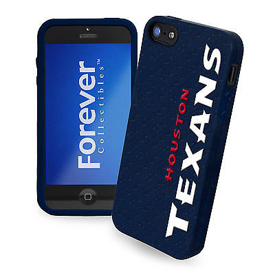 Houston Texans All Silicone IPHONE 5 soft cell phone cover/case