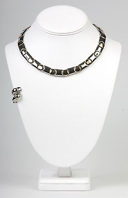 """Boutique Collection"" with Clip Earrings  Necklace Set --NS1126TT"