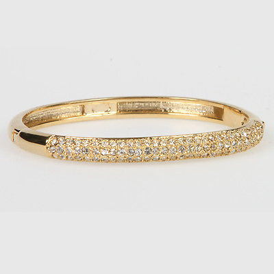 """Austrian Crystal Bangle"" Bracelet - BR5031G"