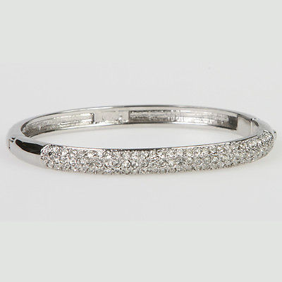 """Austrian Crystal Bangle"" Bracelet - BR5031S"