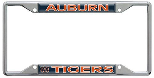NCAA Auburn Tigers Chrome License Plate Frame