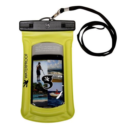 Geckobrands Waterproof Float Phone Case - Bright Green