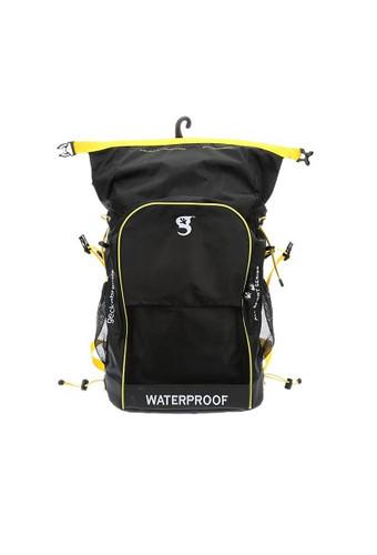 Geckobrands Waterproof Sports Backpack - Grey/Bright Green